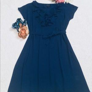Land's End Royal Blue A-Line Dress. Size 6